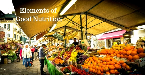 Elements of Good Nutrition